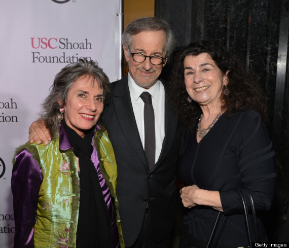 (EXCLUSIVE COVERAGE) attends the USC Shoah Foundation Institute 2013 Ambassadors for Humanity gala at the American Museum of Natural History on October 3, 2013 in New York, New York.