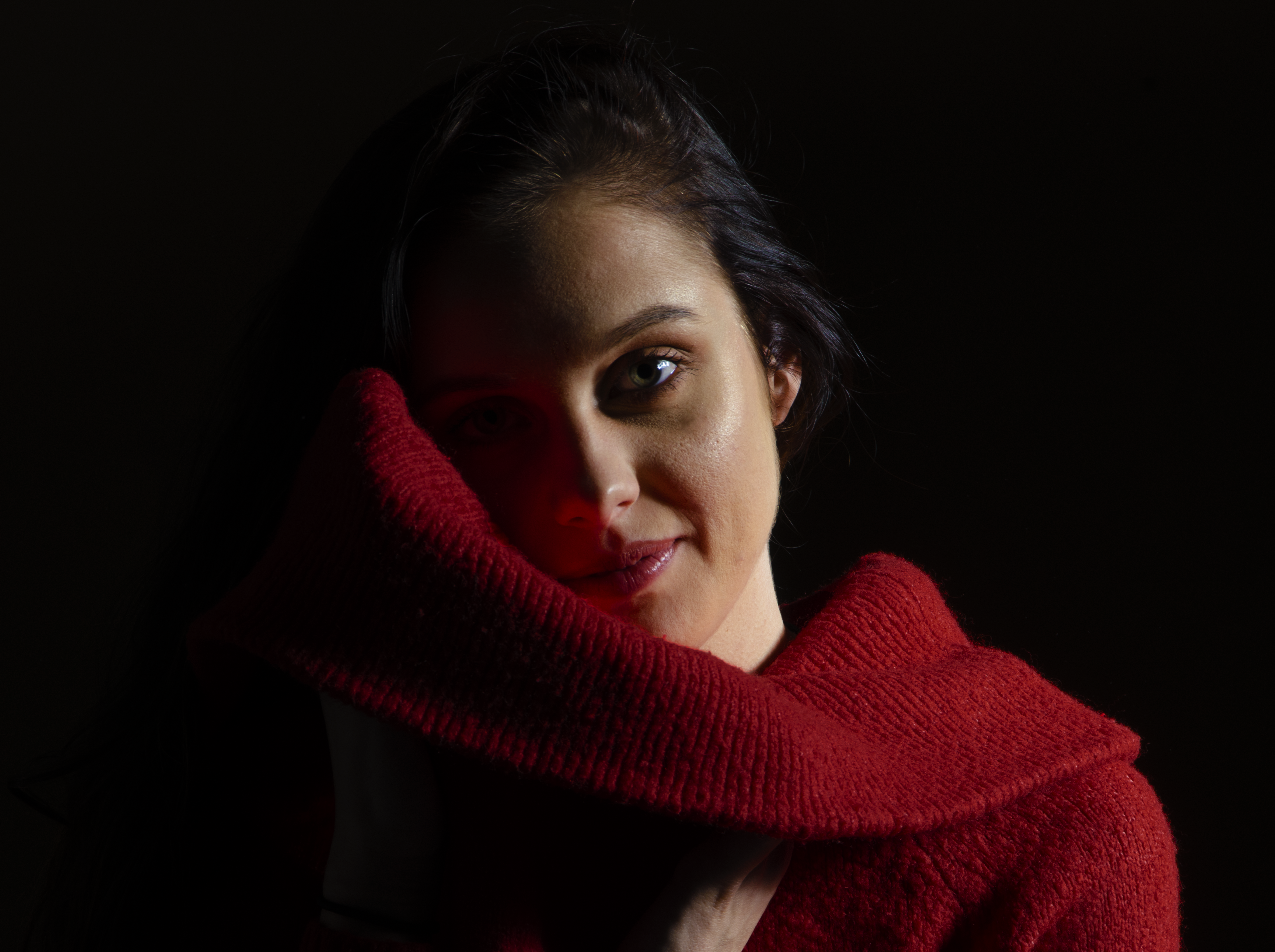 Fotografia studyjna Autor: Alan Ściebura Modelka: Magdalena Król