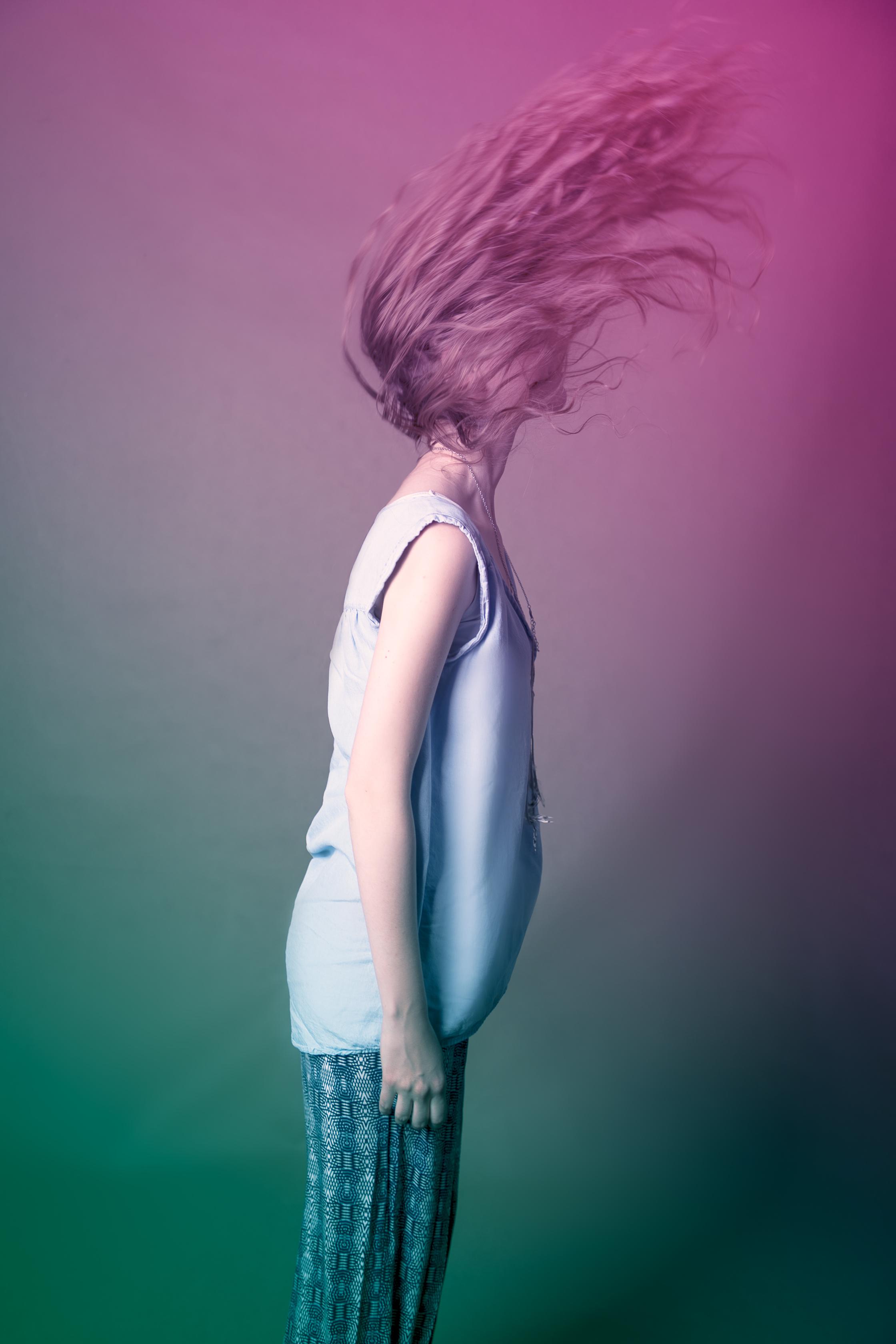 zdjęcie - Małgorzata Wykręt, modelka - Karolina Burian, make up - Karina Radzevich