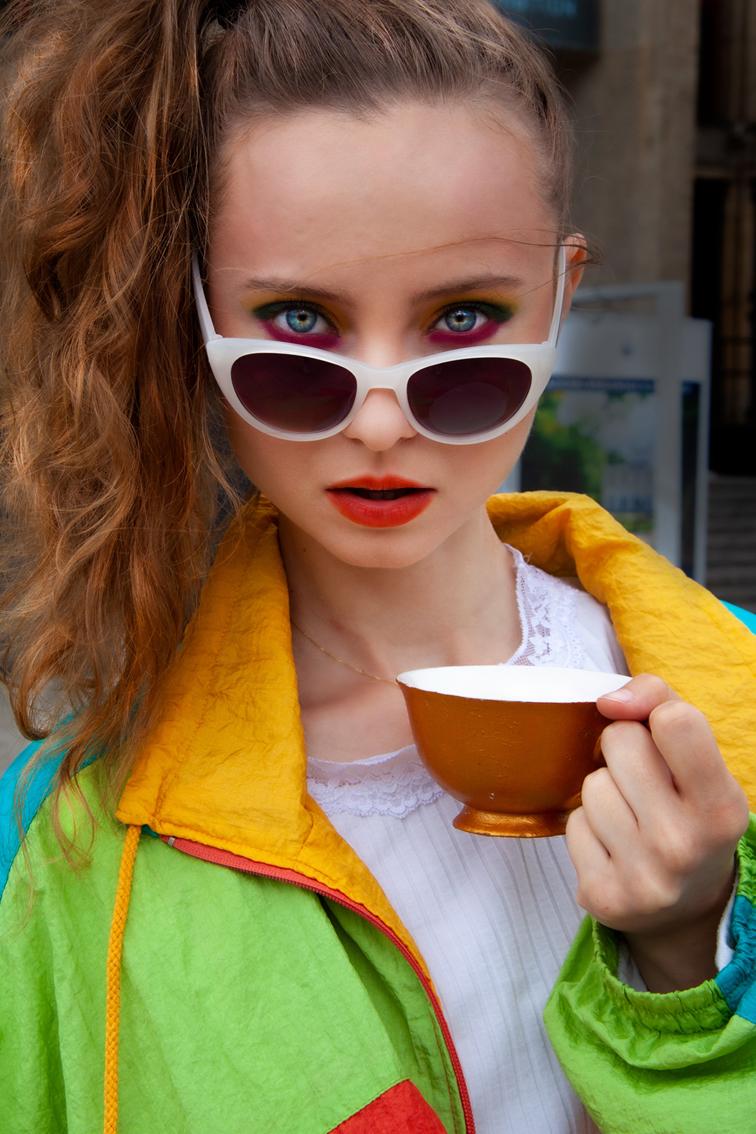 pozowała: Karolina Burian, make up: Karina Radzevich, autorką zdjęcia jest Katarzyna Januś